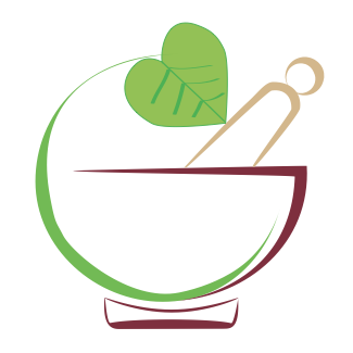 Mortar and pestle graphic