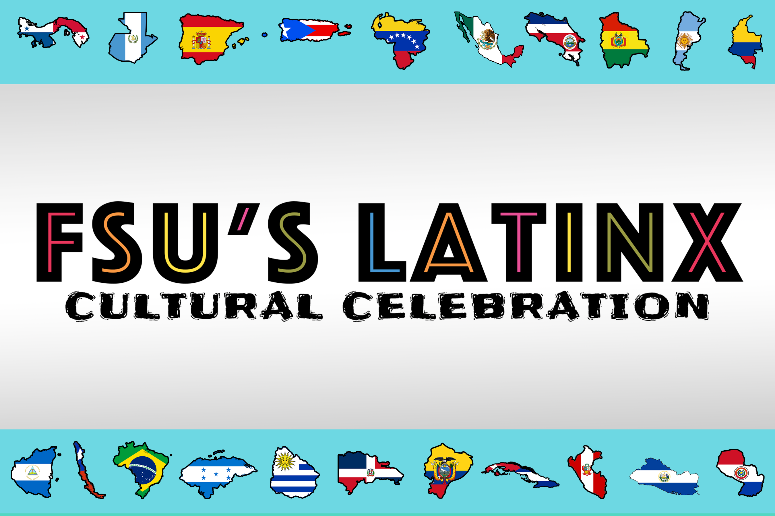 Banner for the FSU Latinx Cultural Celebration