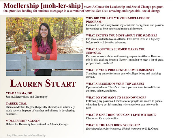 Lauren Stuart Moellership Profile