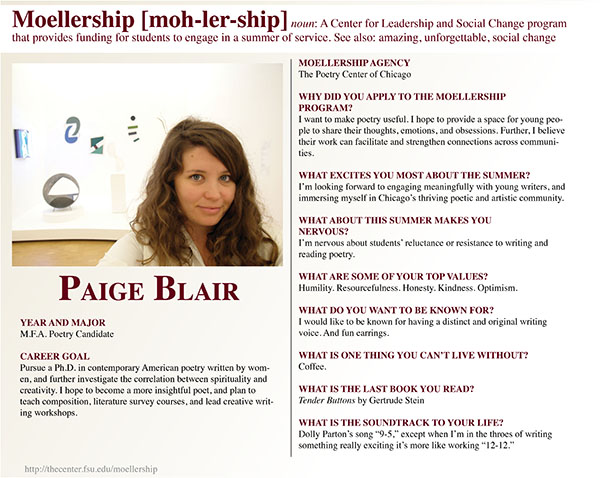 Paige Blair Moellership Profile