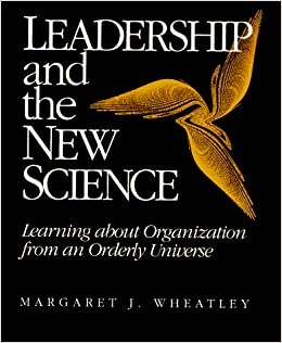 Book cover of Leadership and New Science.jpg